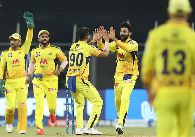 CSK Open Their Winning Account In VIVO IPL 2021
