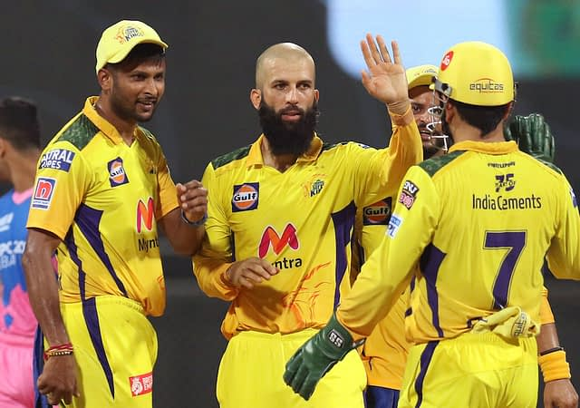 Chennai Super Kings Coast To A Comfortable 45 Runs Victory Over Rajasthan Royals In VIVO IPL 2021