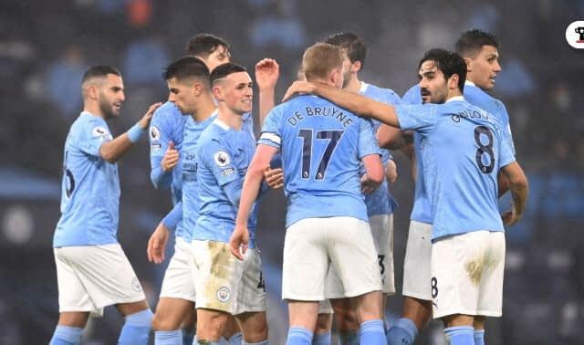 Manchester City Become Fastest English Club To Register 50 Wins