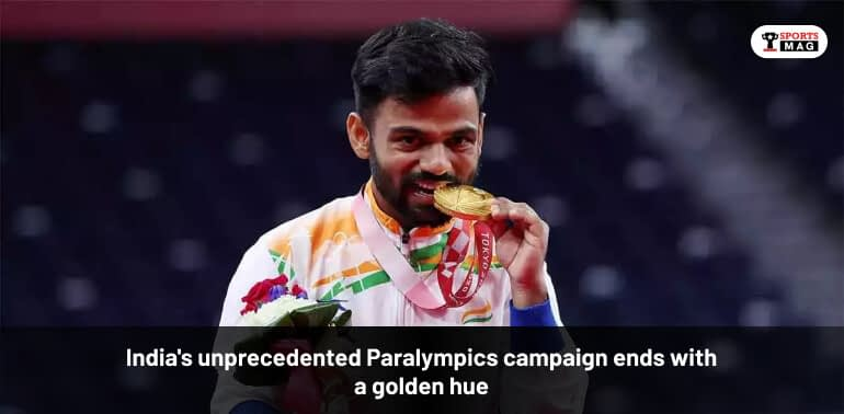India's Unprecedented Paralympics Campaign Ends With A Golden Hue