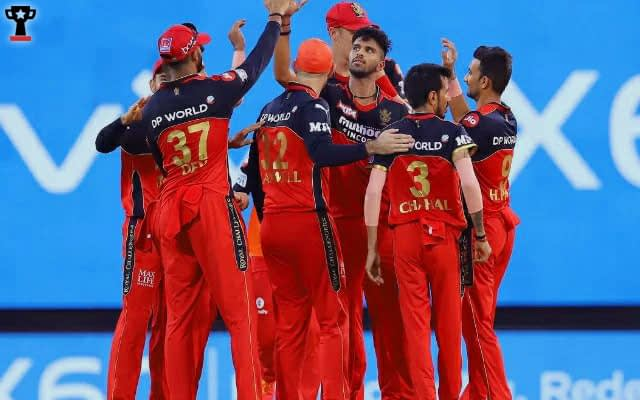 RCB Obliterate RR To Register A Win By 10 Wickets