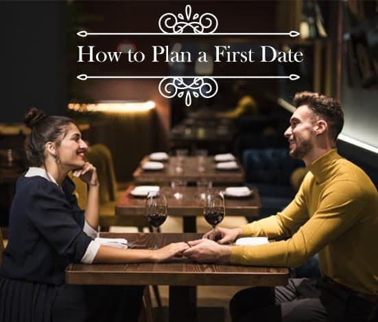 how to plane a first date